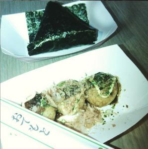 Takoyaki and origami